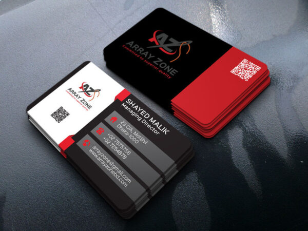 image showing business card