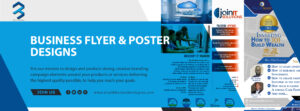 Poster design by Bluribbon technologies